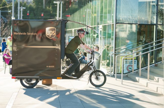 Deliveries by E-bike: Now happening in Portland. It's a beautiful thing. Photo: Bike Portland