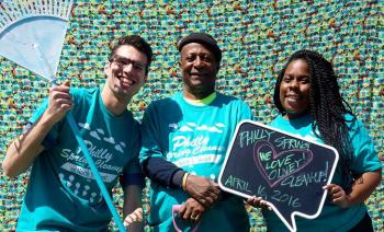 The money that supports revitalization programs in cities like Philadelphia is being held up for punitive cuts by a Pennsylvania lawmaker. Here Philadelphia's North Fifth Street Revitalization Project leaders participate in a community cleanup day. Photo: Plan Philly
